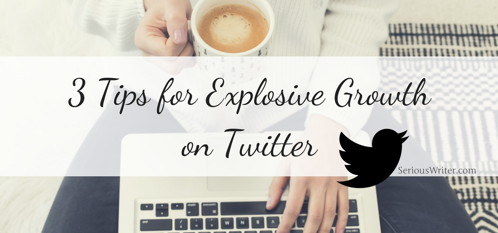 tips to grow your twitter following by Victoria Duerstock | Serious Writer