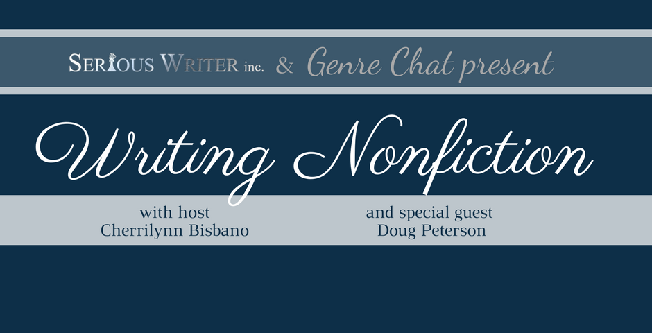 genre chat with Doug Peterson at seriouswriter.com
