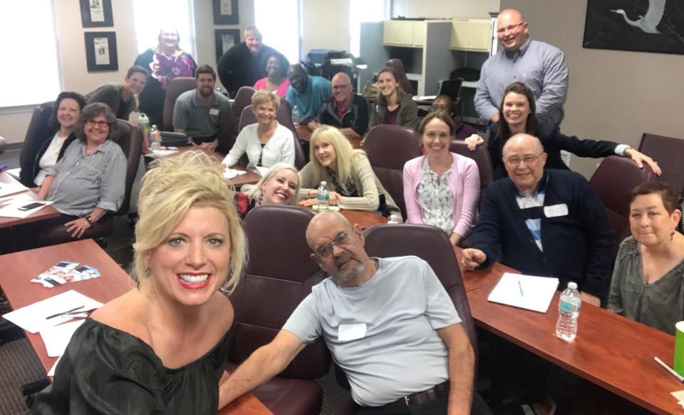 Serious Writer Tally Tour group photo