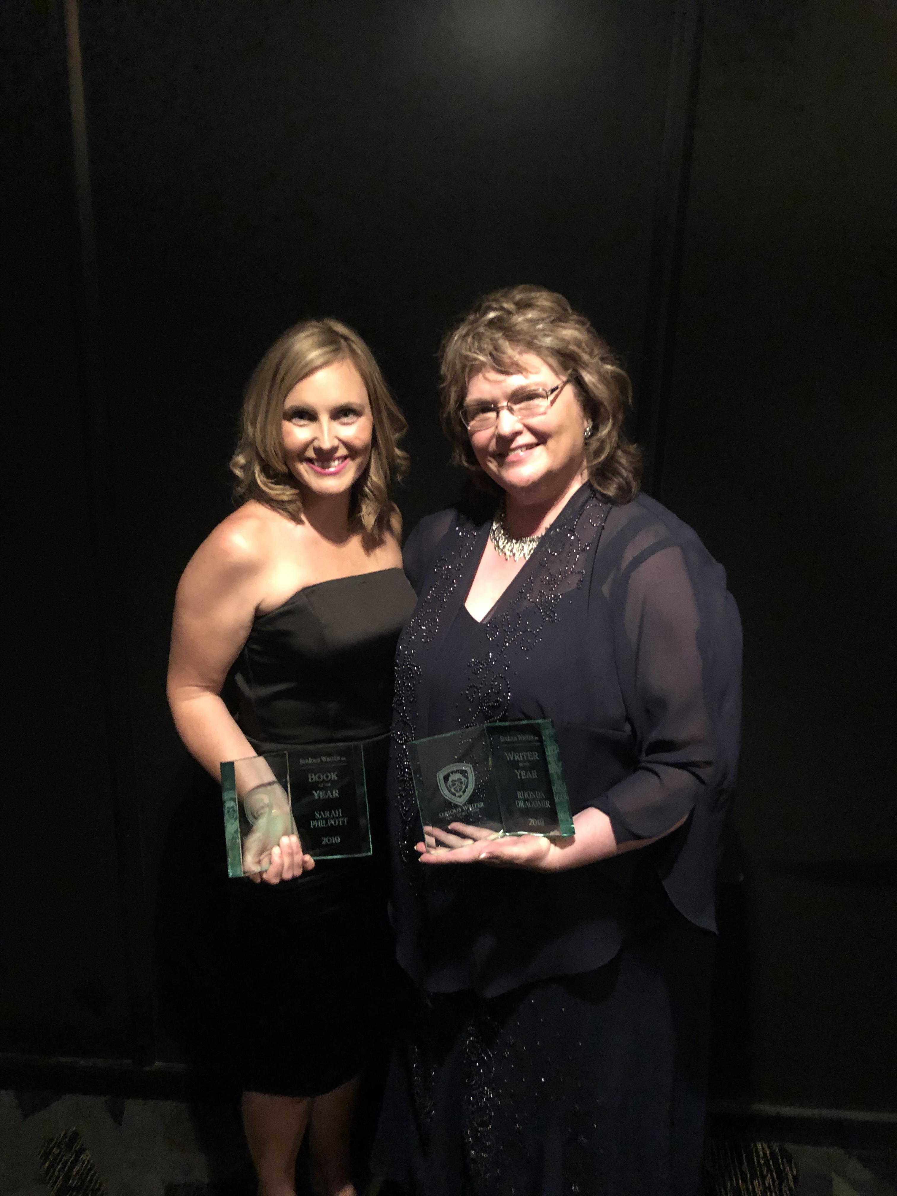 2019 Contest Winners Sarah and Rhonda