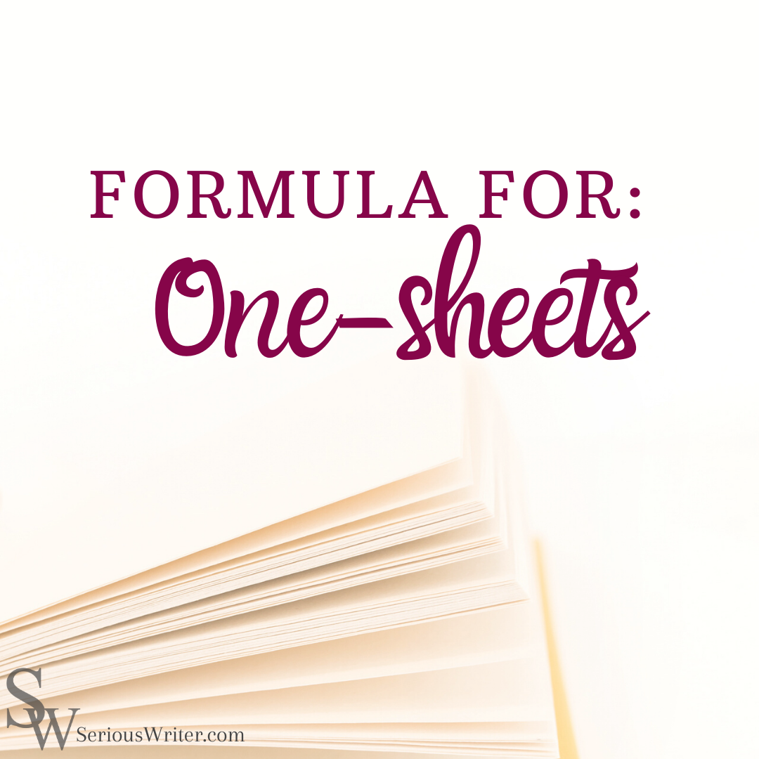 The SW One-Sheet Formula for a Writers Conference